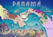Panama kaart