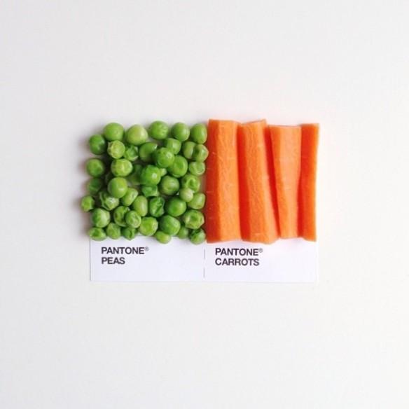carrots & peas.