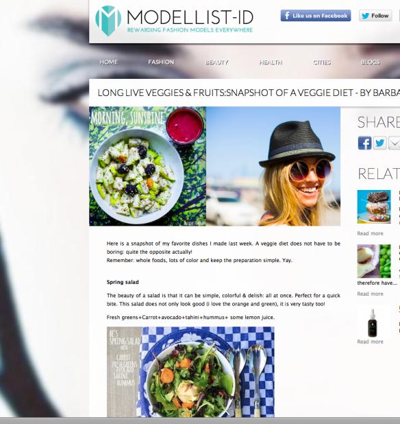 Veggie inspiration for Modellist-ID