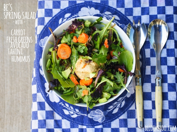 Be's spring salad