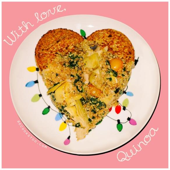 With love, Quinoa