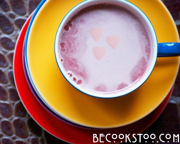 Pretty pink juice!