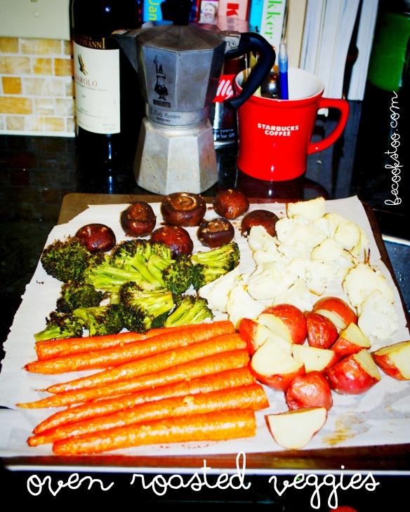 oven roasted veggies, yay!